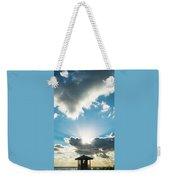 Sunrise Sunburst Lifeguard Station Delray Beach Florida Weekender Tote Bag