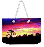 Sunrise Sunset Delight Or Warning Weekender Tote Bag