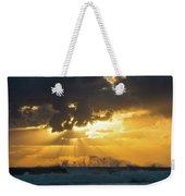 Sunrise Surf Spray Delray Beach Florida Weekender Tote Bag