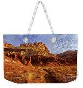 Sunrise The Castle Capitol Reef National Park Utah Weekender Tote Bag