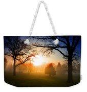 Sunrise Through Trees Weekender Tote Bag