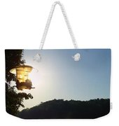 Sunrise Thru The Feeder Weekender Tote Bag