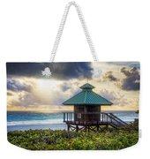 Sunrise Tower At The Beach Weekender Tote Bag