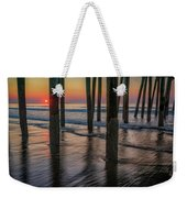 Sunrise Under The Pier Weekender Tote Bag