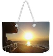 Sunrise View From The Balcony Weekender Tote Bag