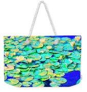 Sunrise Waterlilies Weekender Tote Bag