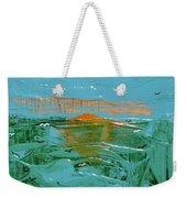 Sunrise With Gulls Weekender Tote Bag