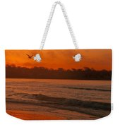 Sunrise With Seagull Weekender Tote Bag