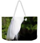 Sunrise With The Egret  Weekender Tote Bag