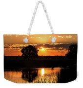 Sunrise's Crepuscular Rays Weekender Tote Bag