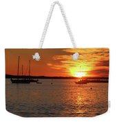 Sun's Up Provincetown Pier 3 Weekender Tote Bag