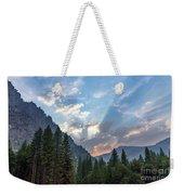 Sunset 1 Yosemite  Weekender Tote Bag