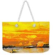 Sunset 24 Weekender Tote Bag