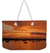 Sunset 4th Of July Weekender Tote Bag