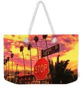 Sunset 7700w Weekender Tote Bag