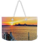 Sunset Across The Chesapeake Weekender Tote Bag