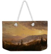 Sunset After A Storm In The Catskill Mountains Weekender Tote Bag