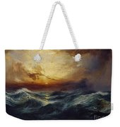 Sunset After A Storm Weekender Tote Bag by Thomas Moran
