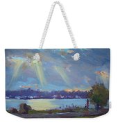 Sunset After The Rain Weekender Tote Bag