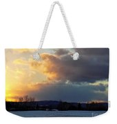 Sunset After Wild Day Weekender Tote Bag