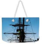 Sunset Ahoy Weekender Tote Bag