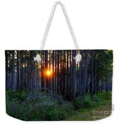 Sunset Along The Florida Trail - St.marks Weekender Tote Bag