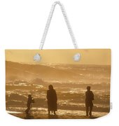Sunset Along The Ocean East Of The City Weekender Tote Bag