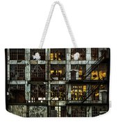 Sunset And Broken Glass The Fort William Starch Company Weekender Tote Bag