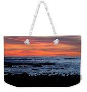 Sunset And Rocks Weekender Tote Bag