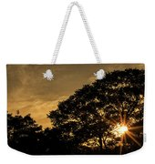 Sunset And Trees - San Salvador Weekender Tote Bag