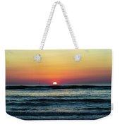 Sunset And Waves Weekender Tote Bag