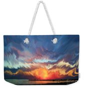 Sunset Art Landscape Weekender Tote Bag