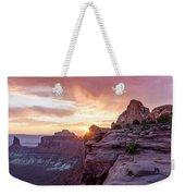 Sunset At Canyonlands Weekender Tote Bag
