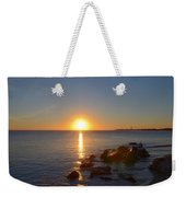 Sunset At Cape May Beach Weekender Tote Bag