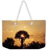 Sunset At Clearwater Beach Weekender Tote Bag