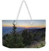 Sunset At Clingmans Dome Weekender Tote Bag