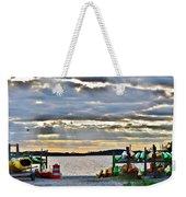 Sunset At Coastal Kayak Weekender Tote Bag