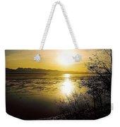 Sunset At Cook Inlet - Alaska Weekender Tote Bag