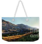 Sunset At Eldorado Lake - Weminuche Wilderness - Colorado Weekender Tote Bag