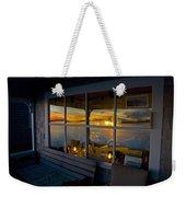 Sunset At Fletchers Camp Weekender Tote Bag by Charles Harden