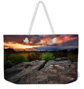 Sunset At Fontainebleau Weekender Tote Bag