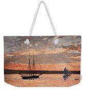 Sunset At Gloucester Weekender Tote Bag