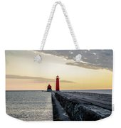 Sunset At Grand Haven Weekender Tote Bag