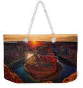 Sunset At Horseshoe Bend Weekender Tote Bag