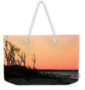 Sunset At James Island Weekender Tote Bag