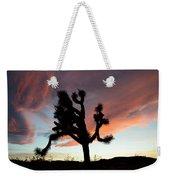 Sunset At Joshua Tree Weekender Tote Bag