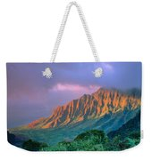 Sunset At Kalalau Lookout Weekender Tote Bag
