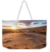 Sunset At Kelso Dunes Weekender Tote Bag