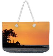 Sunset At Key West Weekender Tote Bag