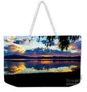 Agency Lake Sunset, Oregon Weekender Tote Bag